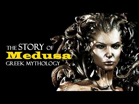The Story of Medusa ~ Greek Mythology (видео)