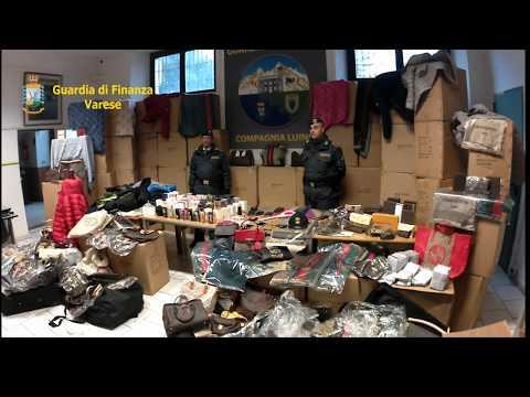 Sequestrati 650.000 prodotti contraffatti da vendere online