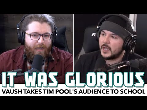 Vaush Takes Tim Pool's Audience To School