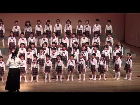 布佐台幼稚園 合唱5歳児「怪獣のバラード」