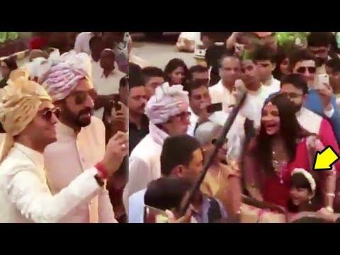 Aishwarya Rai Dancing With Aaradhya In Baaraat Video