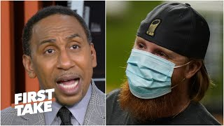MLB should NOT punish Justin Turner for his actions - Stephen A. | First Take
