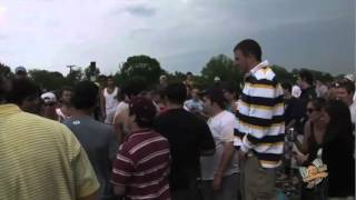 2008 Preakness Stakes - Crowd Fights (Raw Footage)