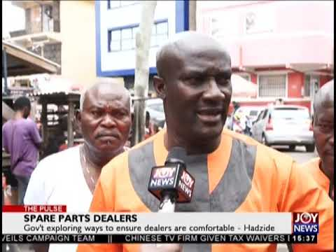 Spare Parts Dealers - The Pulse on JoyNews (27-9-18)