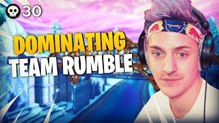Ninja & Reverse2k DOMINATE Team Rumble!
