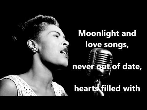 As Time Goes By  BILLIE HOLIDAY (with lyrics)