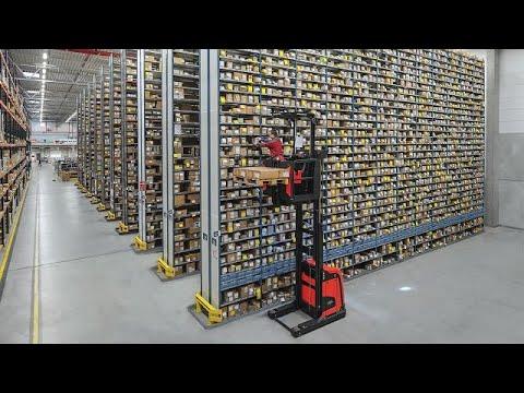 Very Narrow Aisle - Navigation [Customer Video] - Linde Material Handling