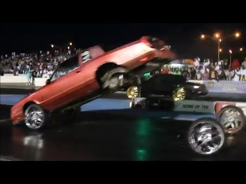 Veltboy314 - Monte Carlo Blows The Wheels Off (Literally) Track Mania Car Show 2K17, Memphis, TN