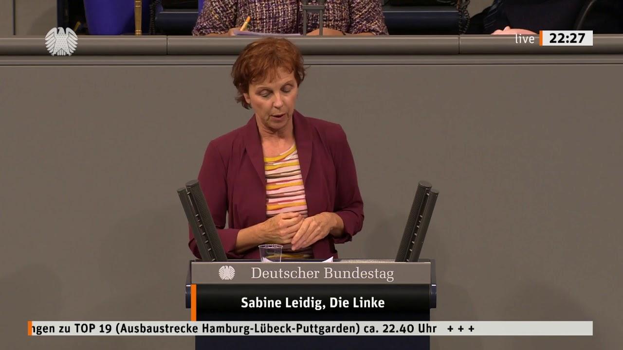 Rede von Sabine Leidig am 2. Juli 2020 im Deutschen Bundestag zum Thema Geld für Bahn(-Lärmschutz) verwenden, statt für Straßenbau verschwenden