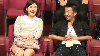 福原愛&波田陽区バドミントン観戦YonexOpen2012-920