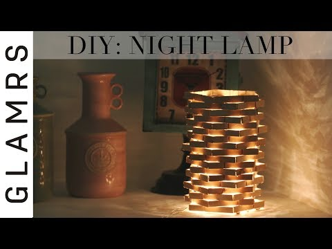 DIY Night Lamp Using Clothespin – Cheap & Easy | Diwali Decoration Ideas | Best Out of Waste