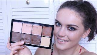 Makeup Revolution HD Pro Cream Contour Palette | First Impression | BellaIzzy