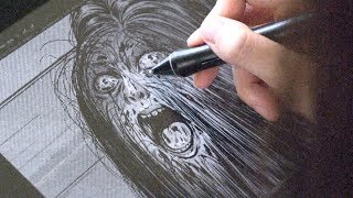 This Artist Creates Some Of The Scariest Art Youve Ever Seen