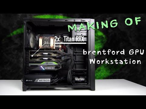 AMD GPU Workstation - making of video