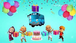 Happy Birthday Song Funny Lagu Selamat Ulang Tahun Kartun Upin Ipin Marsha Tayo Lucu Odong Odong
