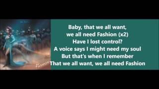 Fashion - Jon Bellion (Lyrics)