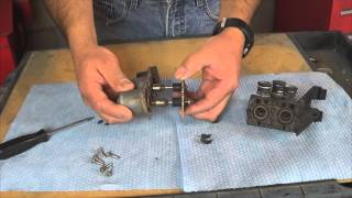W140 heater control valve repair kit remove and installation
