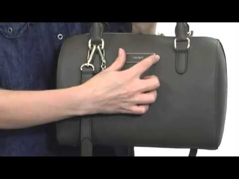 DKNY Saffiano Leather Satchel  SKU#:8206177