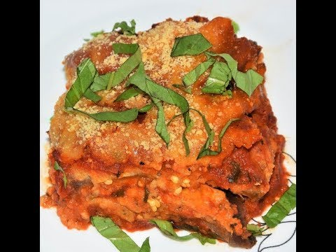 How To Make Eggplant Parmesan - Slow Cooker - Eggplant Parmigiana