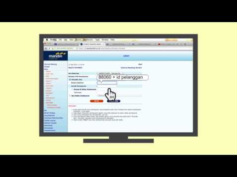 Cara Pembayaran MNC Play melalui Internet Banking Mandiri