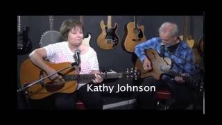 "Kathy Johnson covers ""Tonight Cowboy You're Mine"" with her instructor."