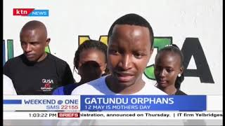 Well-wishers visit an orphanage in Gatundu in celebration of mothers day