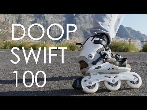 DOOP SWIFT 100 REVIEW // 2017 INLINE SKATE FROM POWERSLIDE