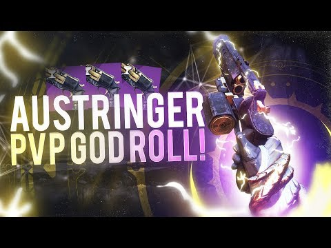 Max Range Austringer PVP God Roll! (Destiny 2)