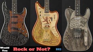 Fender's New Game of Thrones Guitars | Stark Telecaster, Targaryen Stratocaster + Lannister Jaguar