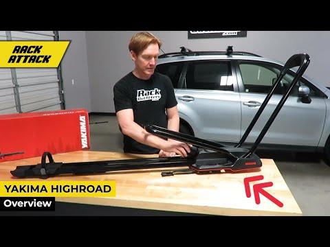 Review of Yakima HighRoad Upright Bike Rack for Roof Racks