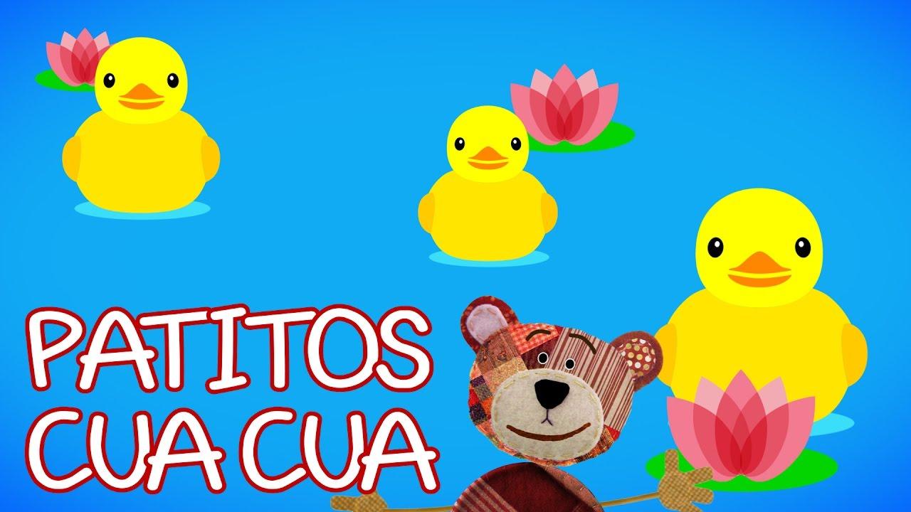 Patitos Cua Cua | Canción infantil con el oso Traposo