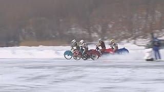 Ледовые мотогонки прошли в рамках учебно-тренировочных сборов дальневосточных спортсменов
