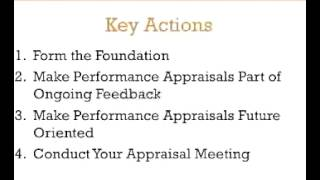 Writing Performance Appraisals - A 3-Minute Crash Course