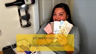 DIY | Cash Envelopes | Dave Ramsey Inspired | Budgeting | My Journey to Financial Fierceness