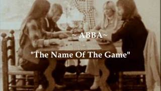 """ABBA """"The Name Of The Game""""  (Widescreen - High Defintion)"""