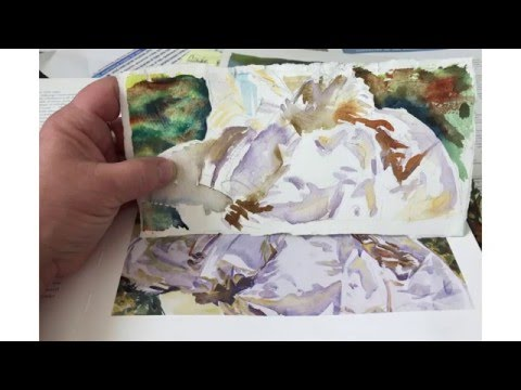 A short introduction to the painting style of Jane's favorite American watercolorist, John Singer Sargent.