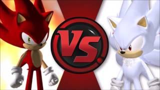 FIRE SONIC vs HYPER SHADIC Cartoon Fight Club FAN MADE Episode 1