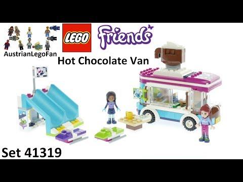 Vidéo LEGO Friends 41319 : La camionnette à chocolat de la station de ski