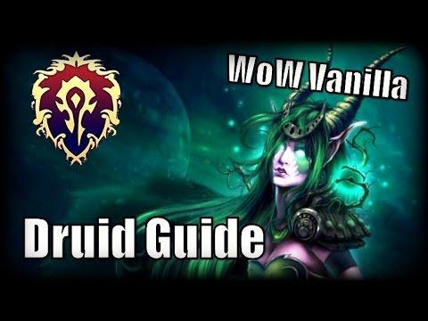 Vanilla World of Warcraft: Druid DPS Rotations  - смотреть онлайн на