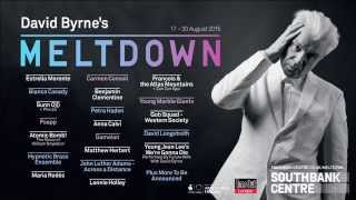 David Byrnes Meltdown  Festival Lineup Announcement