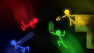 Çubuk Adamların Dövüşü | Stick Fight Kapışması