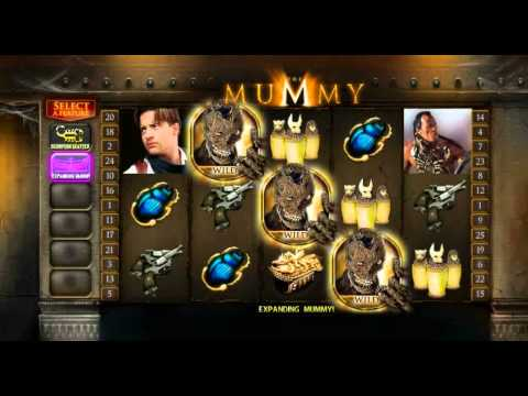 The Mummy video slot preview