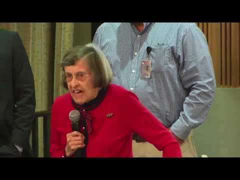 An old lady obliterates Phoenix Suns owner Robert Sarver at a city council meeting