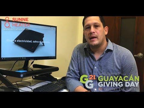 Grupo Guayacán Giving Day presenta José Lebrón de Sunne Clean Tech y su razón para dar