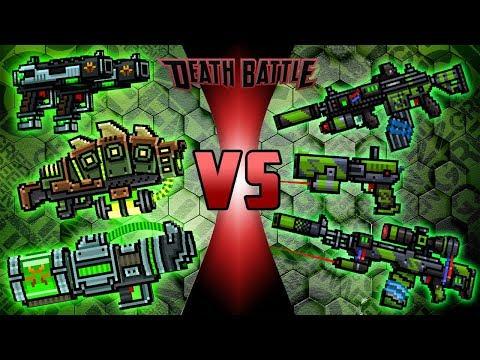 Super Mutant Set VS Z-Squad Set - Pixel Gun 3D