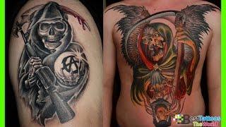 Grim Reaper Tattoos For Men   Grim Reaper Tattoos Women