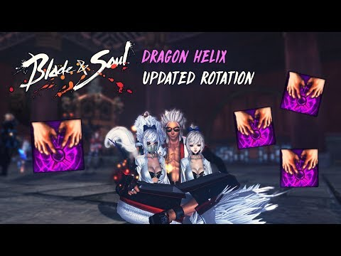 Blade and Soul NA] Warlock - Dragon Helix Rotation | With