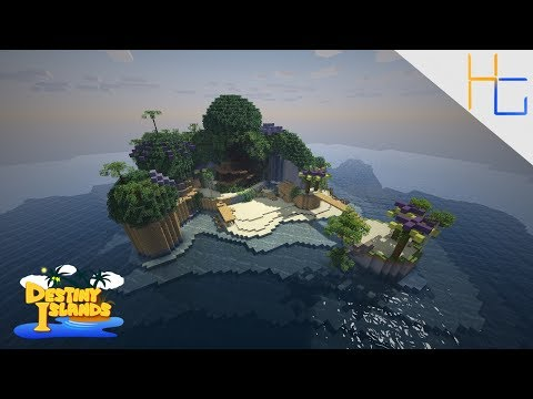 Kingdom Hearts | Destiny Islands Minecraft Project