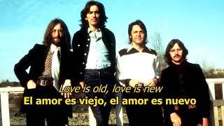 Because - The Beatles (LYRICS/LETRA) [Original]