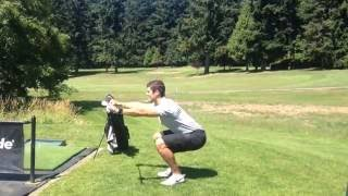 Quick Golf Warmup 3/7